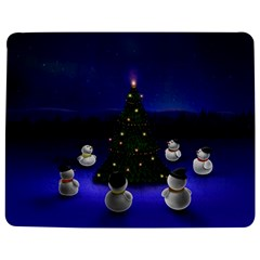 Waiting For The Xmas Christmas Jigsaw Puzzle Photo Stand (Rectangular)