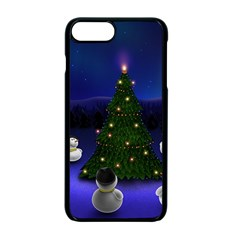 Waiting For The Xmas Christmas Apple iPhone 7 Plus Seamless Case (Black)