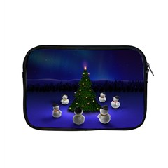 Waiting For The Xmas Christmas Apple MacBook Pro 15  Zipper Case
