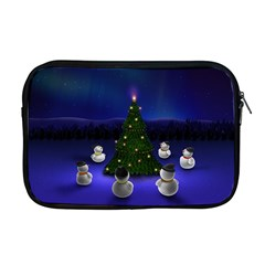Waiting For The Xmas Christmas Apple MacBook Pro 17  Zipper Case