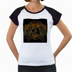 Virus Computer Encryption Trojan Women s Cap Sleeve T