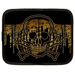 Virus Computer Encryption Trojan Netbook Case (Large)