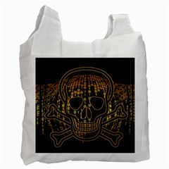 Virus Computer Encryption Trojan Recycle Bag (Two Side)