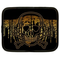 Virus Computer Encryption Trojan Netbook Case (XXL)