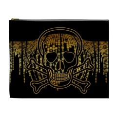 Virus Computer Encryption Trojan Cosmetic Bag (XL)