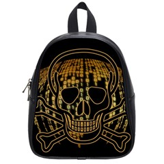 Virus Computer Encryption Trojan School Bags (Small)