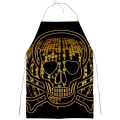 Virus Computer Encryption Trojan Full Print Aprons