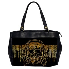 Virus Computer Encryption Trojan Office Handbags (2 Sides)