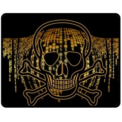 Virus Computer Encryption Trojan Fleece Blanket (Medium)