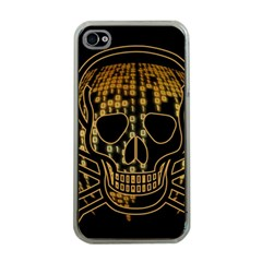 Virus Computer Encryption Trojan Apple iPhone 4 Case (Clear)