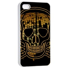 Virus Computer Encryption Trojan Apple iPhone 4/4s Seamless Case (White)