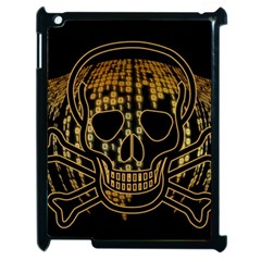 Virus Computer Encryption Trojan Apple iPad 2 Case (Black)
