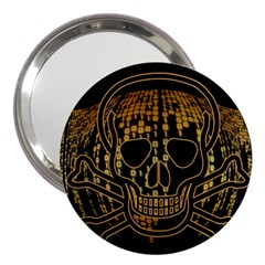 Virus Computer Encryption Trojan 3  Handbag Mirrors