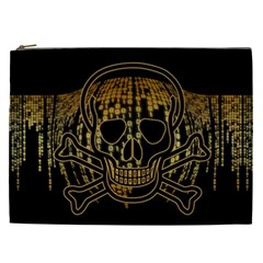 Virus Computer Encryption Trojan Cosmetic Bag (XXL)