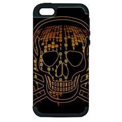 Virus Computer Encryption Trojan Apple iPhone 5 Hardshell Case (PC+Silicone)