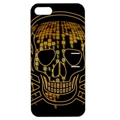 Virus Computer Encryption Trojan Apple iPhone 5 Hardshell Case with Stand