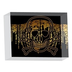 Virus Computer Encryption Trojan 5 x 7  Acrylic Photo Blocks