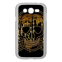 Virus Computer Encryption Trojan Samsung Galaxy Grand DUOS I9082 Case (White)