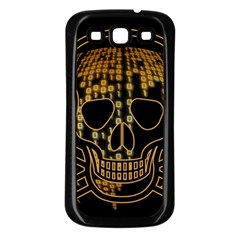 Virus Computer Encryption Trojan Samsung Galaxy S3 Back Case (Black)