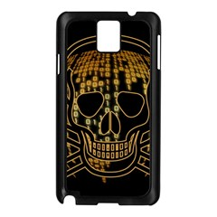 Virus Computer Encryption Trojan Samsung Galaxy Note 3 N9005 Case (Black)