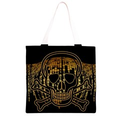 Virus Computer Encryption Trojan Grocery Light Tote Bag