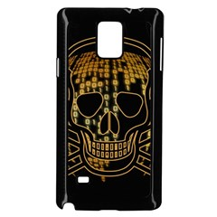 Virus Computer Encryption Trojan Samsung Galaxy Note 4 Case (Black)