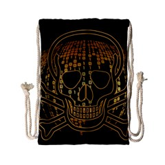 Virus Computer Encryption Trojan Drawstring Bag (Small)