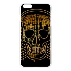 Virus Computer Encryption Trojan Apple Seamless iPhone 6 Plus/6S Plus Case (Transparent)