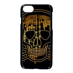 Virus Computer Encryption Trojan Apple iPhone 7 Seamless Case (Black)
