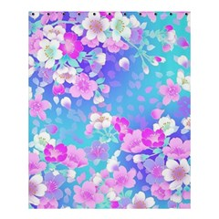 Colorful Pastel Flowers Shower Curtain 60  X 72  (medium)