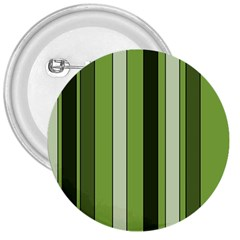 Greenery Stripes Pattern 8000 Vertical Stripe Shades Of Spring Green Color 3  Buttons