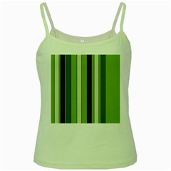 Greenery Stripes Pattern 8000 Vertical Stripe Shades Of Spring Green Color Green Spaghetti Tank