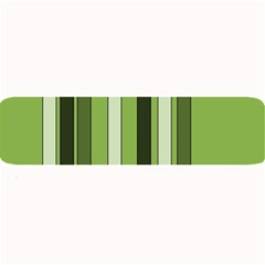 Greenery Stripes Pattern 8000 Vertical Stripe Shades Of Spring Green Color Large Bar Mats
