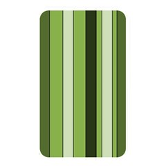 Greenery Stripes Pattern 8000 Vertical Stripe Shades Of Spring Green Color Memory Card Reader