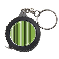 Greenery Stripes Pattern 8000 Vertical Stripe Shades Of Spring Green Color Measuring Tapes