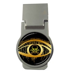 Virus Computer Encryption Trojan Money Clips (Round)