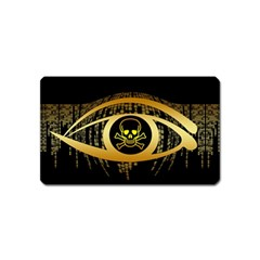 Virus Computer Encryption Trojan Magnet (Name Card)