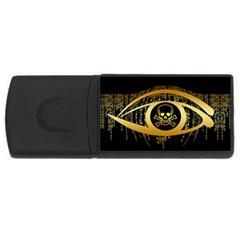 Virus Computer Encryption Trojan USB Flash Drive Rectangular (2 GB)