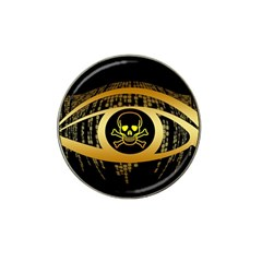 Virus Computer Encryption Trojan Hat Clip Ball Marker (4 pack)