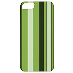 Greenery Stripes Pattern 8000 Vertical Stripe Shades Of Spring Green Color Apple iPhone 5 Classic Hardshell Case