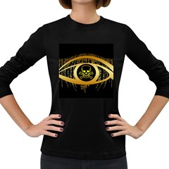 Virus Computer Encryption Trojan Women s Long Sleeve Dark T-Shirts