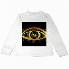 Virus Computer Encryption Trojan Kids Long Sleeve T-Shirts