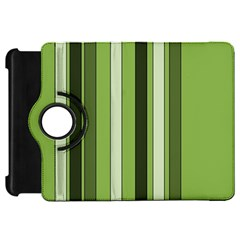 Greenery Stripes Pattern 8000 Vertical Stripe Shades Of Spring Green Color Kindle Fire HD 7