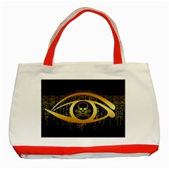 Virus Computer Encryption Trojan Classic Tote Bag (Red)