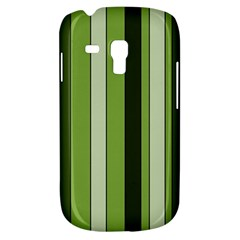 Greenery Stripes Pattern 8000 Vertical Stripe Shades Of Spring Green Color Galaxy S3 Mini