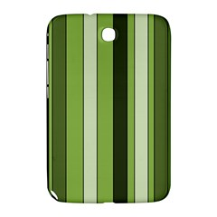 Greenery Stripes Pattern 8000 Vertical Stripe Shades Of Spring Green Color Samsung Galaxy Note 8.0 N5100 Hardshell Case
