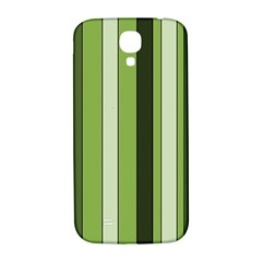 Greenery Stripes Pattern 8000 Vertical Stripe Shades Of Spring Green Color Samsung Galaxy S4 I9500/I9505  Hardshell Back Case