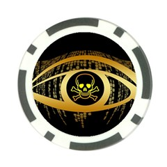 Virus Computer Encryption Trojan Poker Chip Card Guards