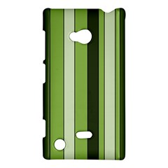 Greenery Stripes Pattern 8000 Vertical Stripe Shades Of Spring Green Color Nokia Lumia 720