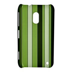 Greenery Stripes Pattern 8000 Vertical Stripe Shades Of Spring Green Color Nokia Lumia 620
